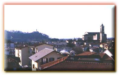 Foto panoramiche del Comune di Almè provincia di Bergamo