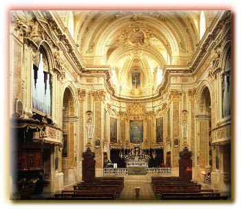Interno della Chiesa Parrocchiale di S. Pietro a Sorisole